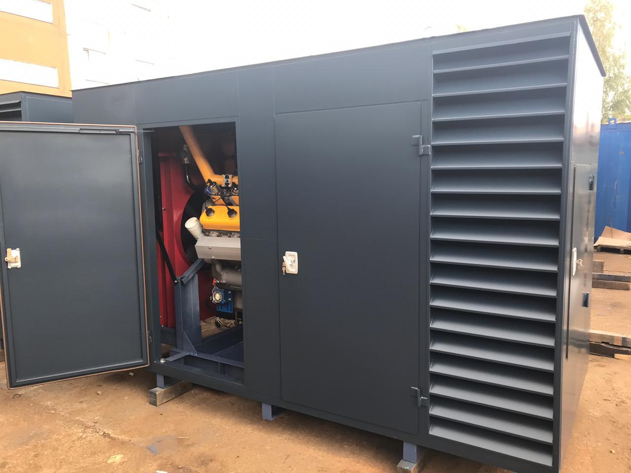 Газопоршневая электростанция АГП-320 в кожухе (Baudouin)