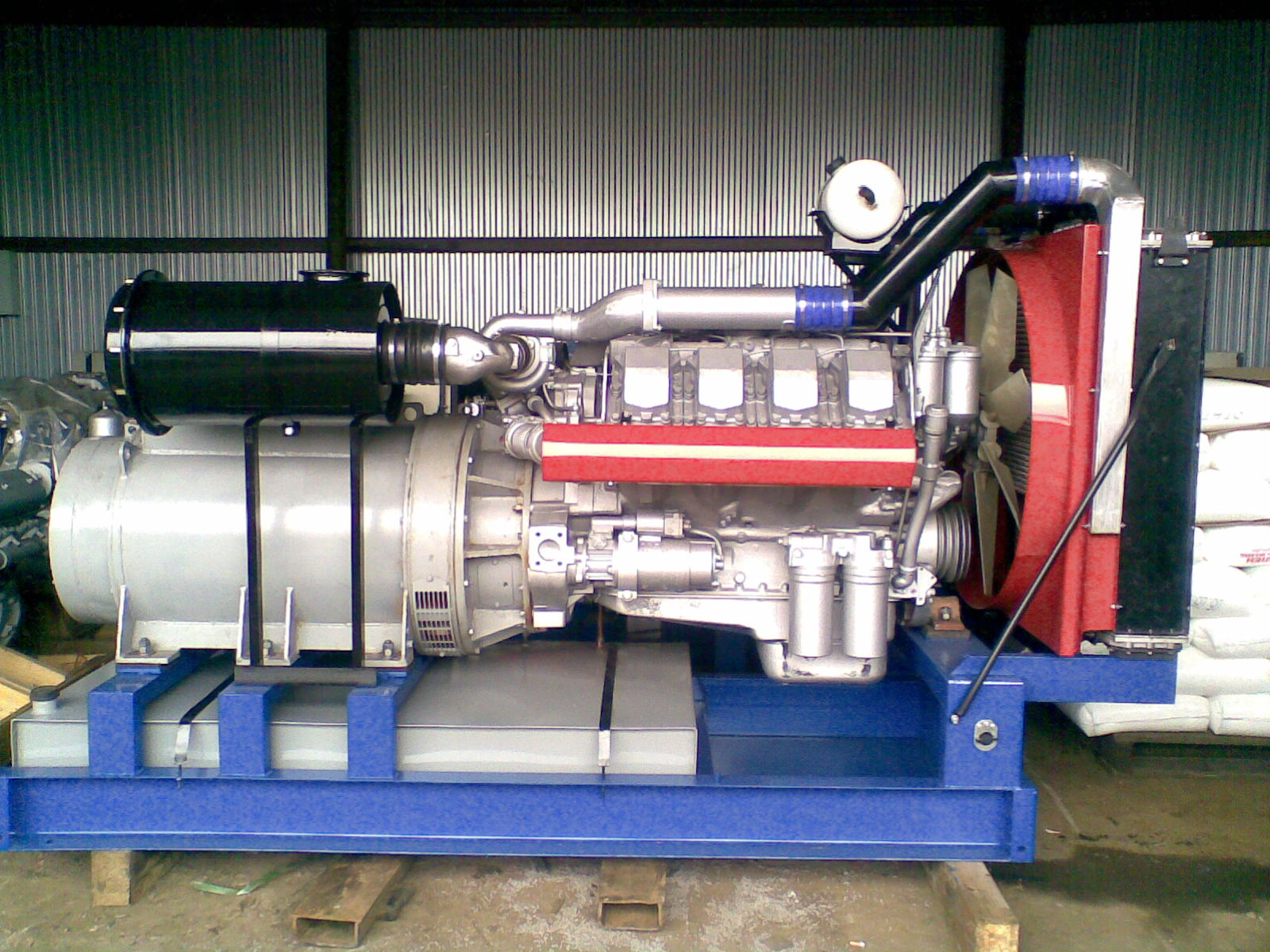 фото АД 315 на моторе ТМЗ