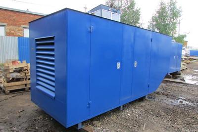 Капотированное исполнение дизель генераторов ДГУ (ДЭС)