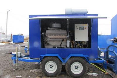 Передвижные электрогенераторы дизельные