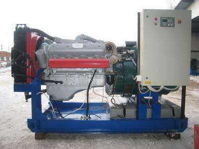 дэс 120 двигатель ЯМЗ-238ДИ открытого типа