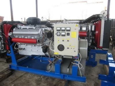 фото ДЭС-120 ЯМЗ-238 модель АД-120С-Т400-1Р ЯМЗ-238
