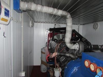 Топливная система контейнера
