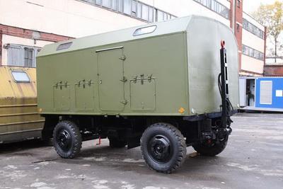 ЭД-30 Д-65 в кунге на шасси