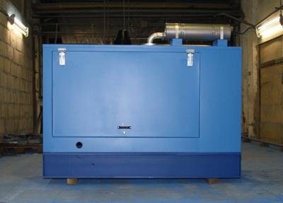 Дизельные электростанции ДЭС (АД) ДГУ в погодозащитном капоте - фото
