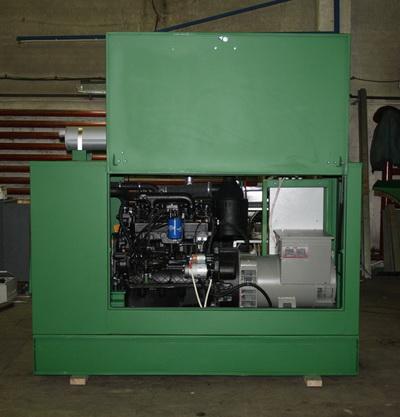 дизель генератор в капотном исполнении