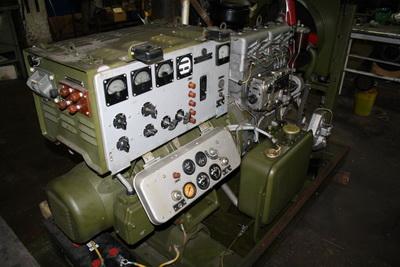 АД 10 кВт военного образца