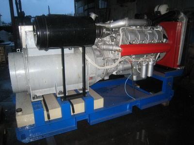 фото ДЭС-315 двигатель ТМЗ