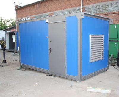 фото АД 240 в утепленном блок контейнере