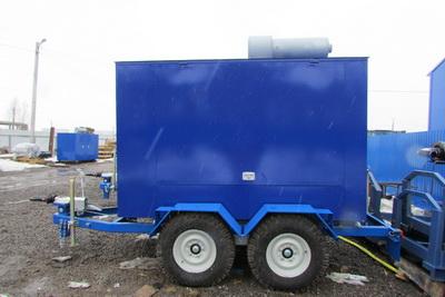 эд80-т400-1рп на шасси прицепа