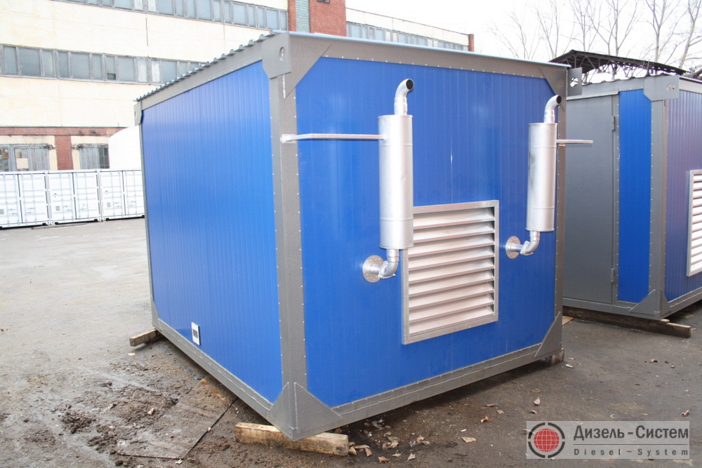 Аварийное электроснабжение - газовые генераторы контейнерного типа