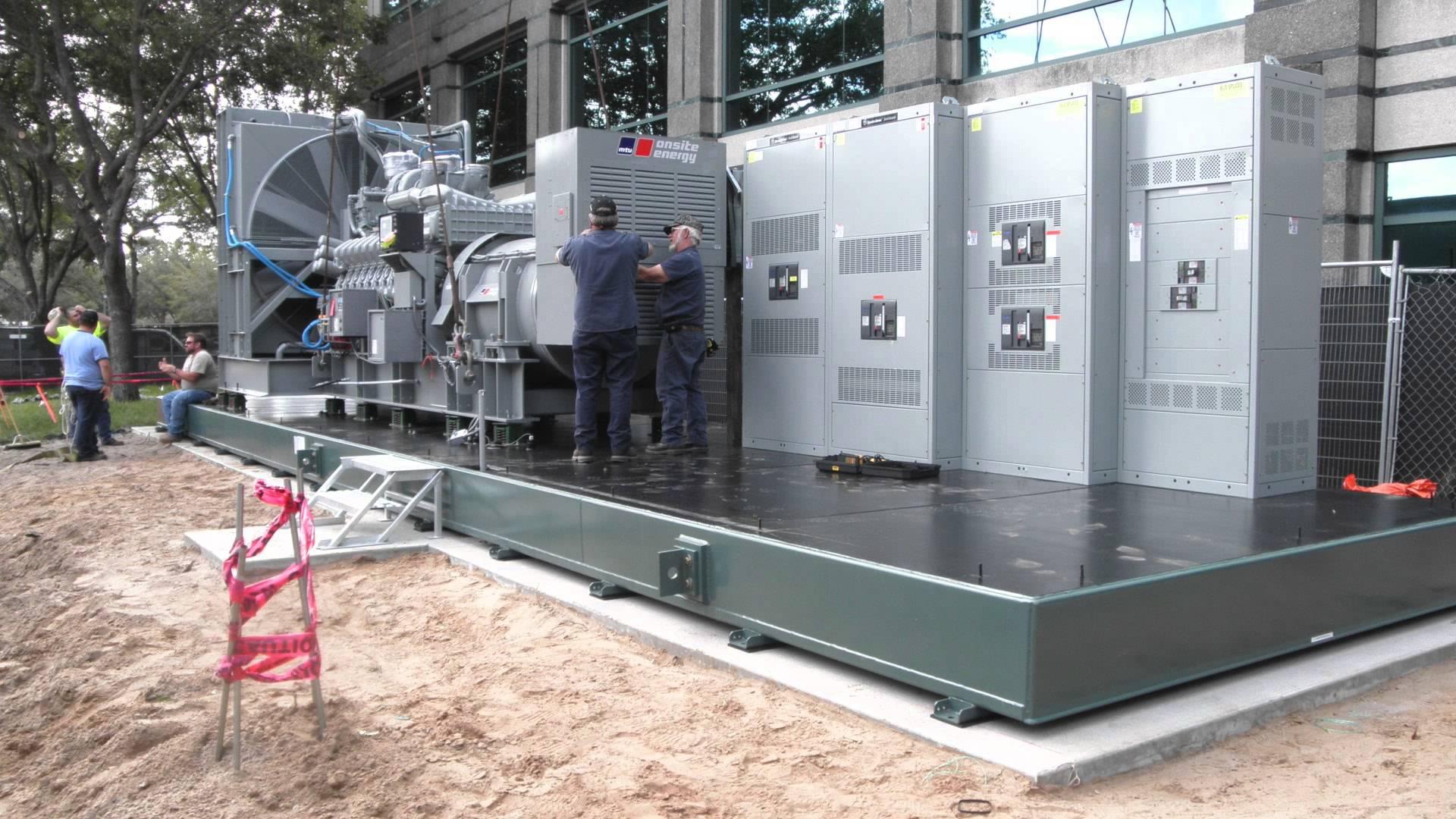 Шеф-монтаж дизельных генераторов