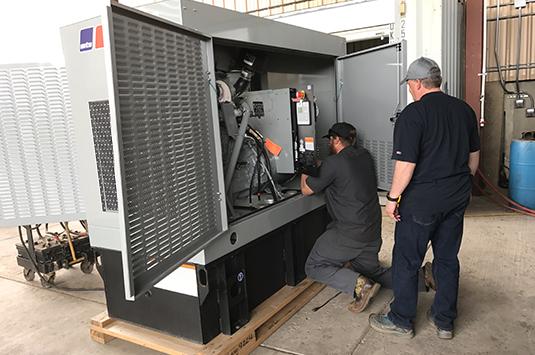 Обслуживание дизельных электростанций