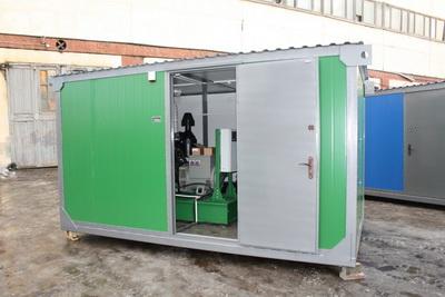 фото ДЭС 24 в утепленном блок контейнере