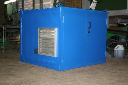 фото ДЭС 24 в мини блок контейнере