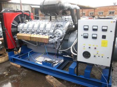 фото ДЭС-320 двигатель ЯМЗ-8503
