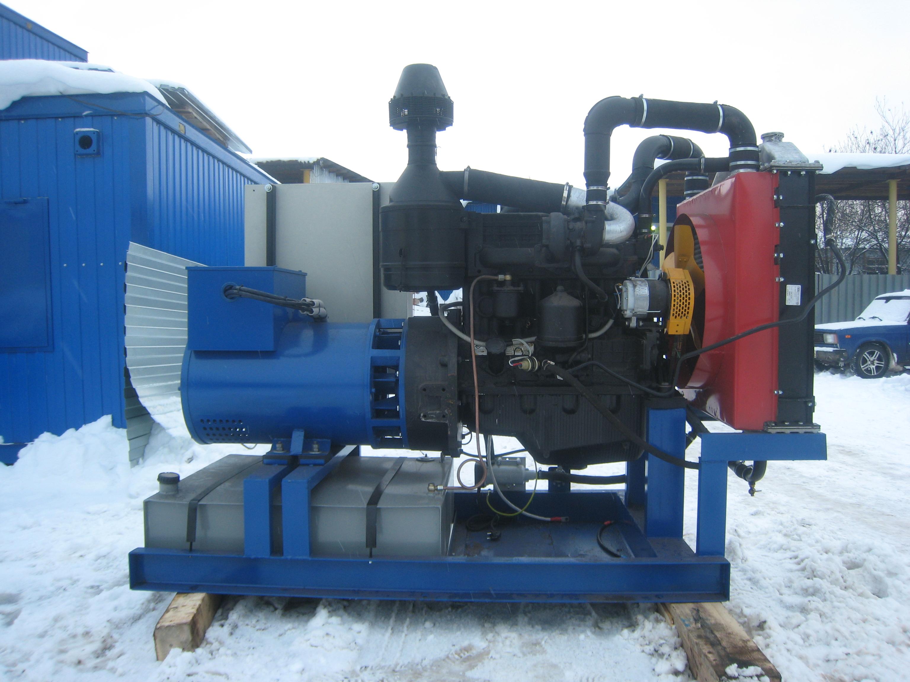 Российские генераторы ДГУ 16 кВт