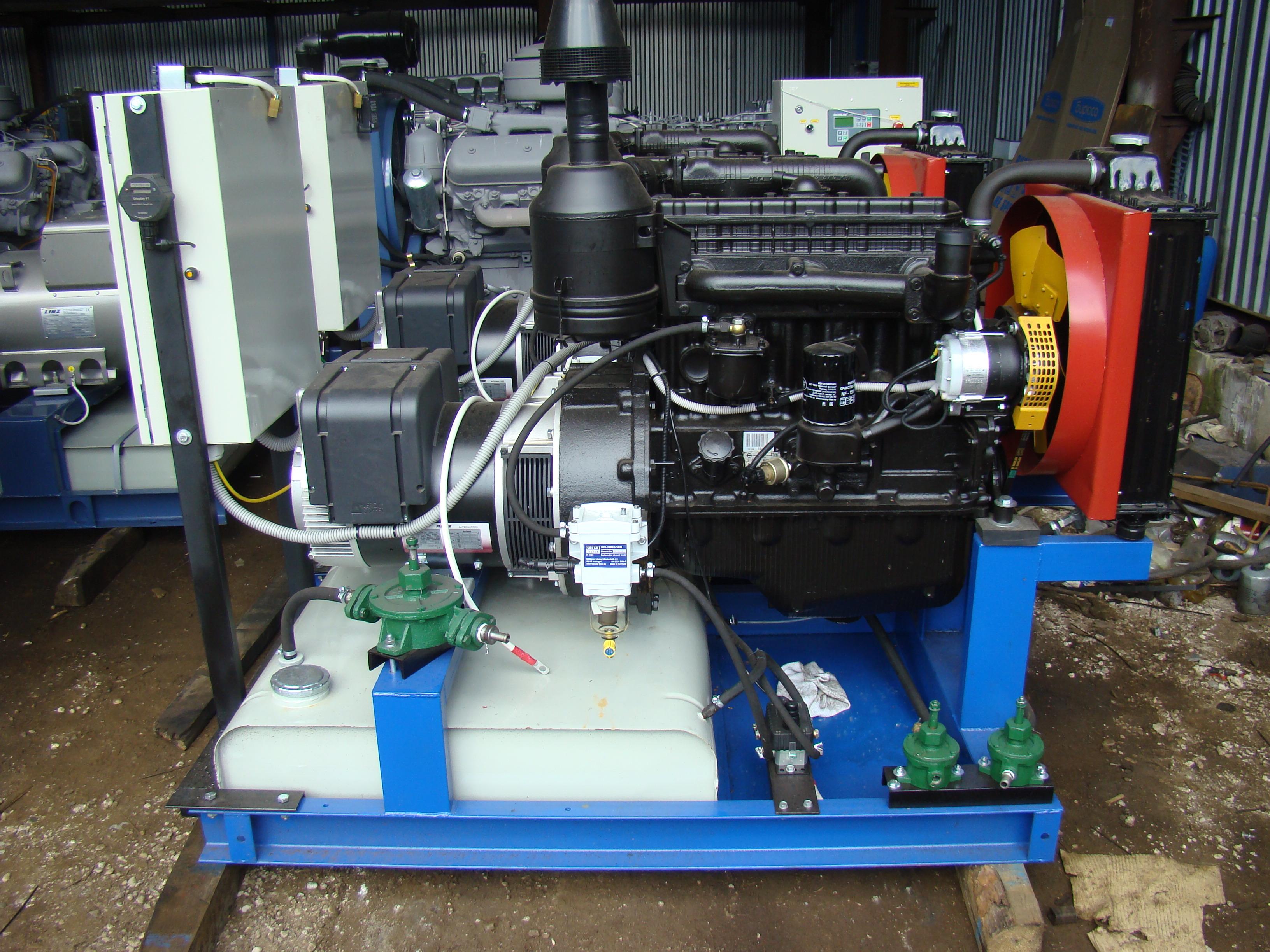 Российские генераторы ДГУ 30 кВт