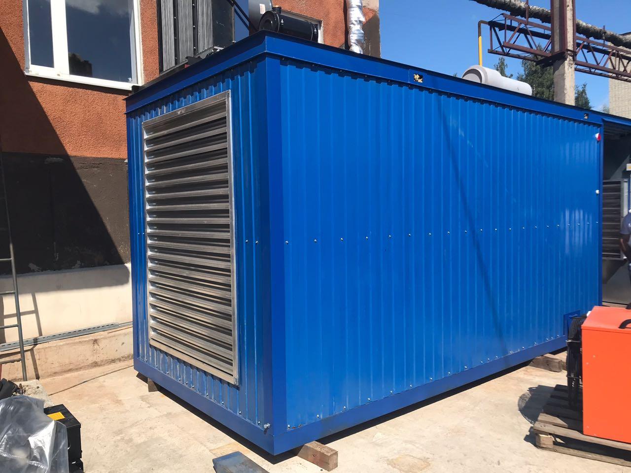 Газовый генератор контейнерного типа с двигателем ЯМЗ, ТМЗ