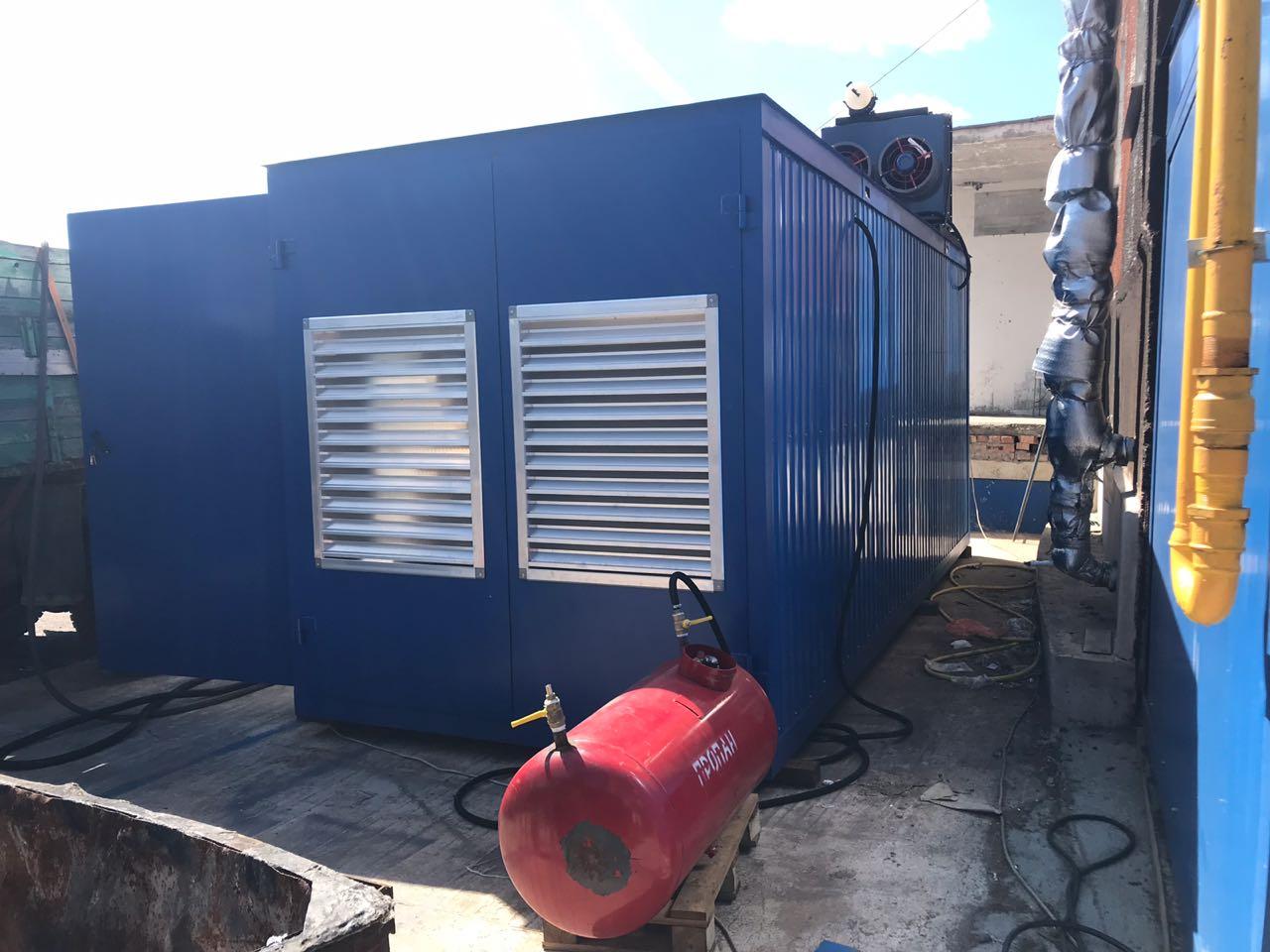 Газовый генератор в блочно-контейнерном исполнении с двигателем ЯМЗ, ТМЗ