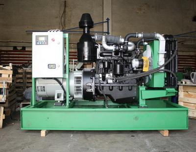 Дизель-генератор открытого типа от производителя - Компания Дизель Систем