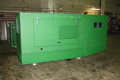 Дизель-генератор в кожухе от производителя - Компания Дизель Систем
