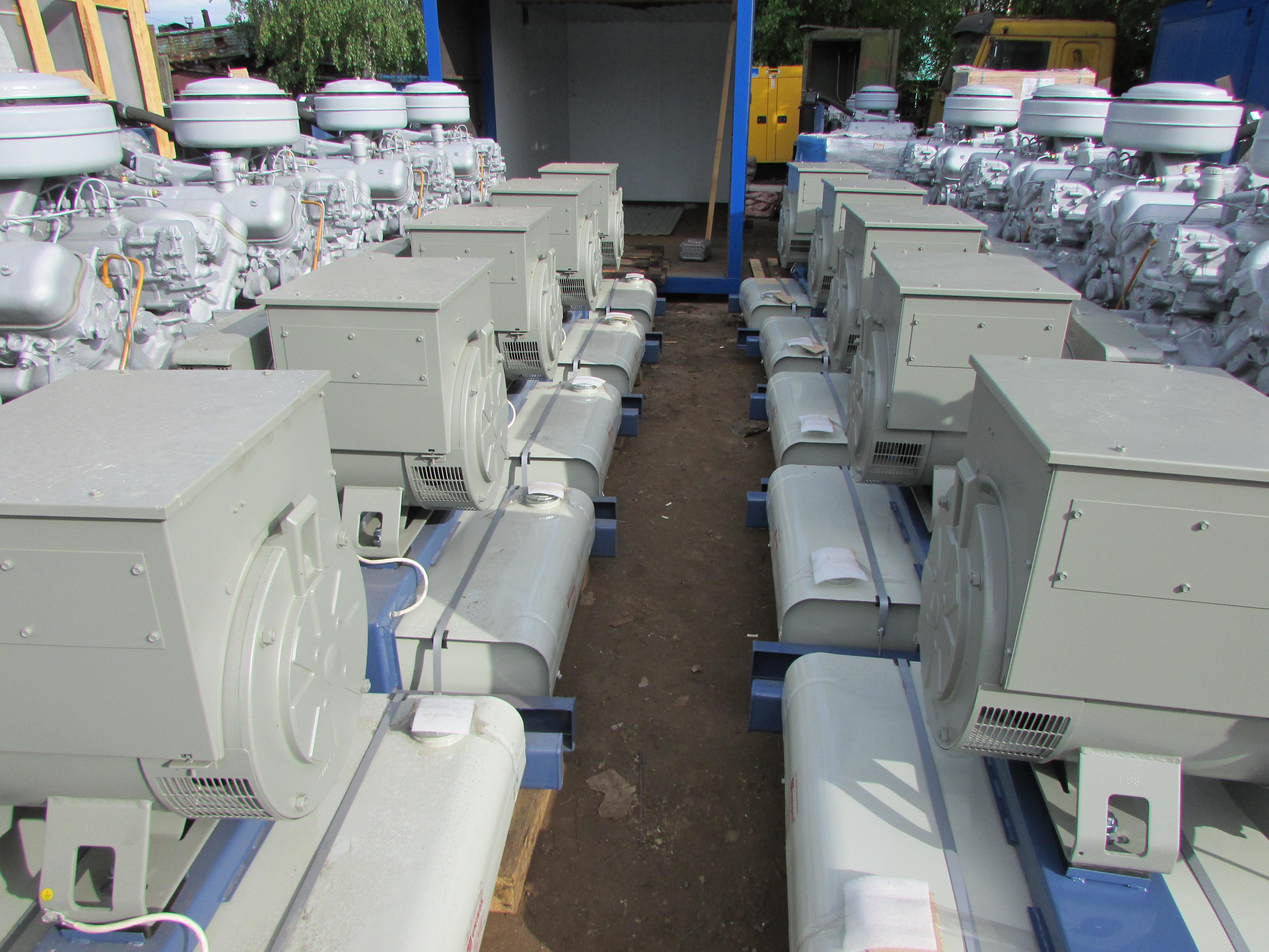 конструкция и преимущества дизельных генераторов