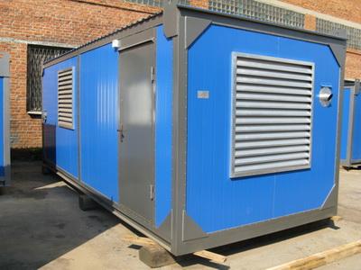 фото ДЭС-200 в утепленном контейнере