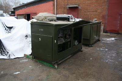 АД 10 кВт в капоте с консервации