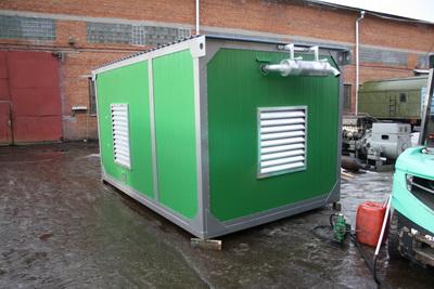 фото ДЭС-315 в утепленном контейнере