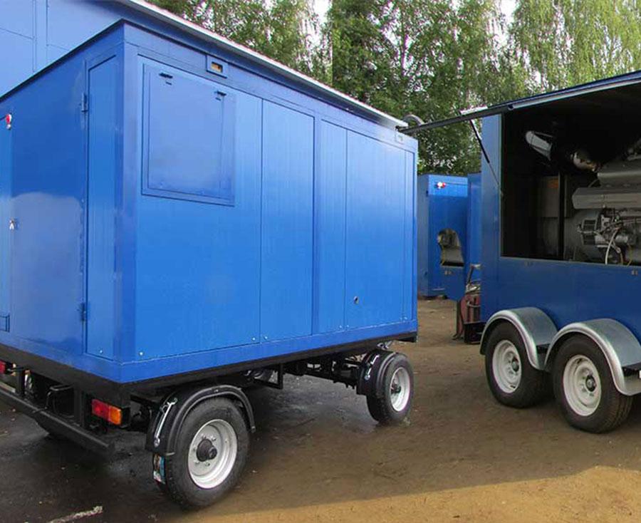 ЭД275-Т400-1РП (передвижные электростанции 275 кВт на шасси)