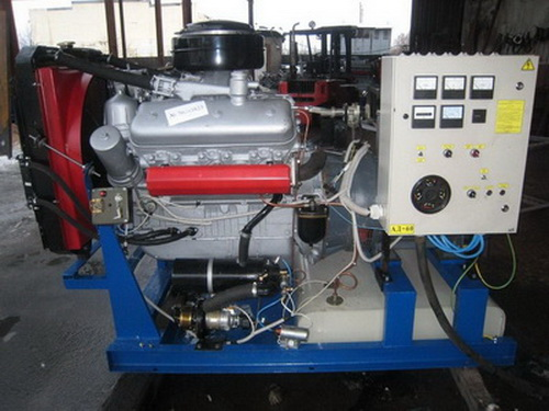 ЯМЗ-236М2 (АД-60...АД-80) Двигатель ЯМЗ-236М2