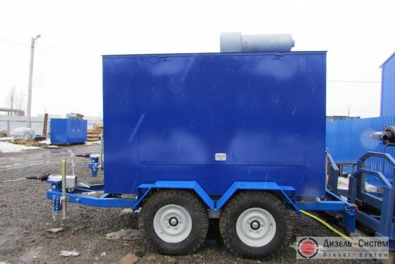 ЭД300-Т400-1РПМ генератор 300 кВт на прицепе