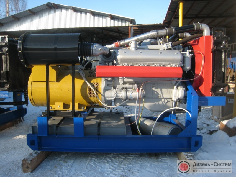 АД-300С-Т400-1Р (АД-300-Т400-1Р) генератор 300 кВт открытого типа