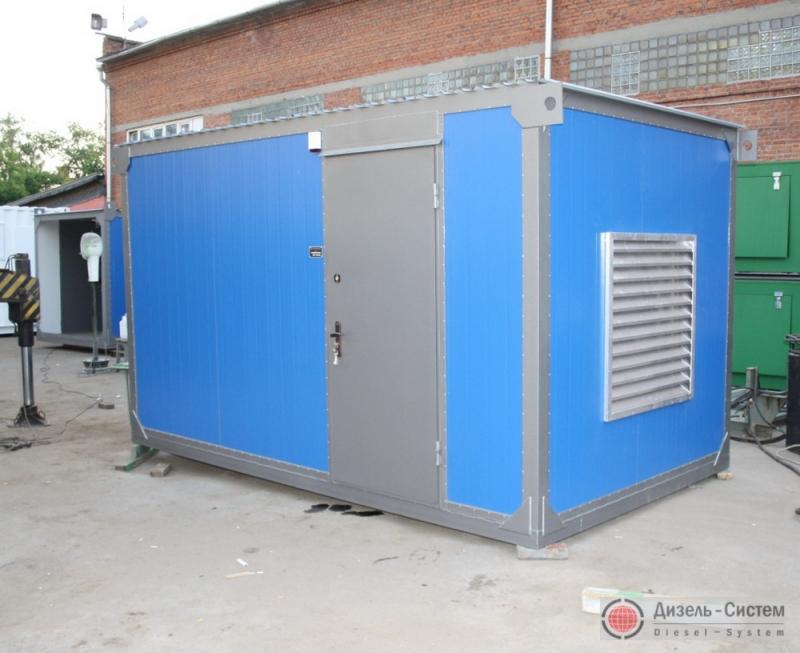 АД-300С-Т400-2РГТН (АД-300-Т400-2РГТН) генератор 300 кВт в утеплённом блок-контейнере