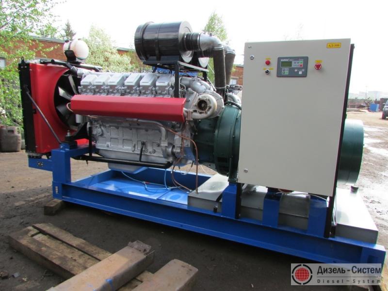 АД-315С-Т400-2Р (АД-315-Т400-2Р) генератор 315 кВт в открытом исполнении