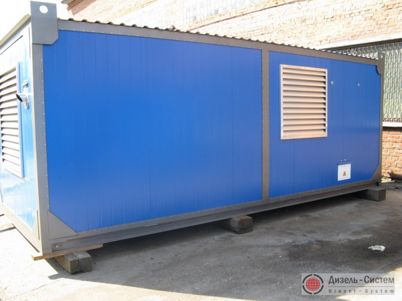 АД-315С-Т400-1РЯ (АД-315-Т400-1РЯ) генератор 315 кВт в блок-контейнере Север, Тайга, Энергия, Арктика, морского типа