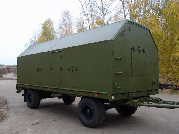 Дизельные электростанции 315 кВт в кунге (кузов-фургон)