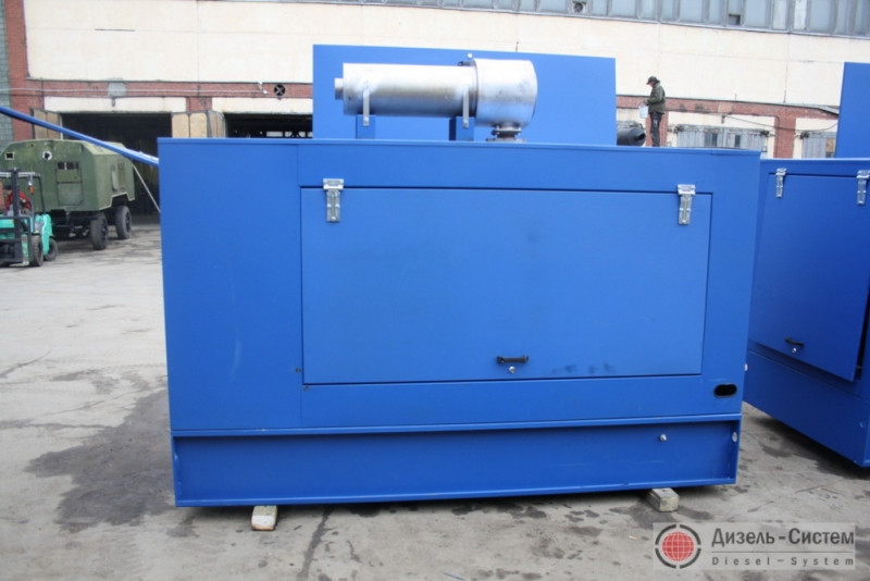 Фото дизель-электрической установки ДЭУ-40.1 в капоте