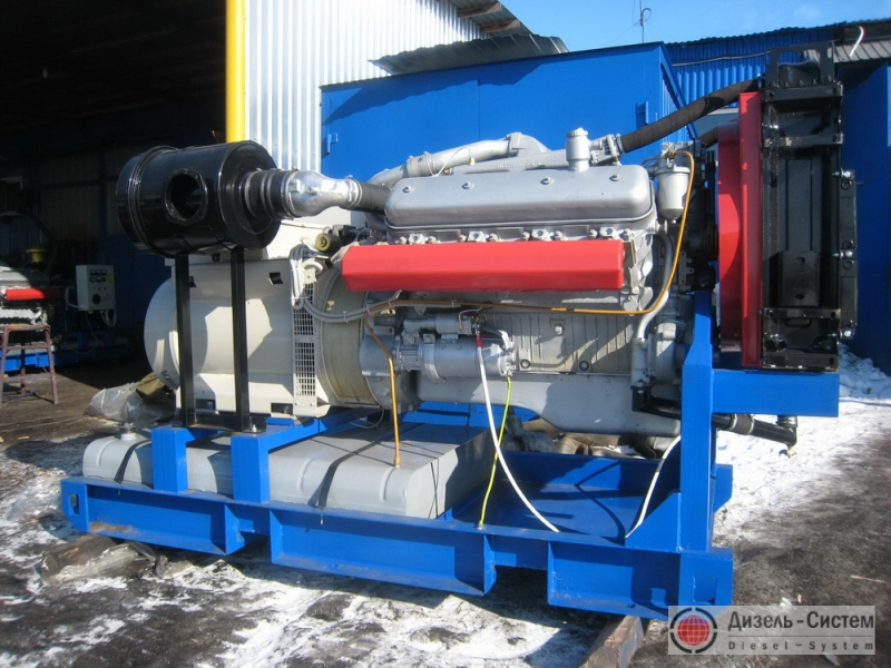 АД-150С-Т400-2РЯ (АД-150-Т400-2РЯ) генератор 150 кВт открытого исполнения на раме
