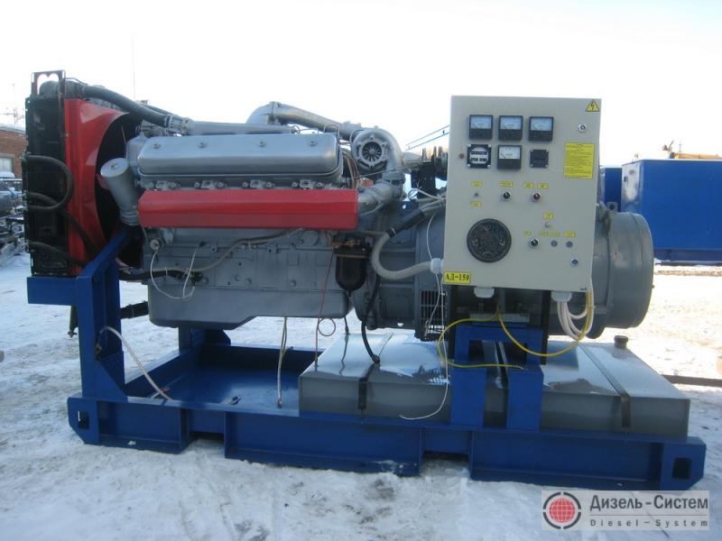 АД-150С-Т400-2РМ2 (АД-150-Т400-2РМ2) генератор 150 кВт с двигателем ЯМЗ