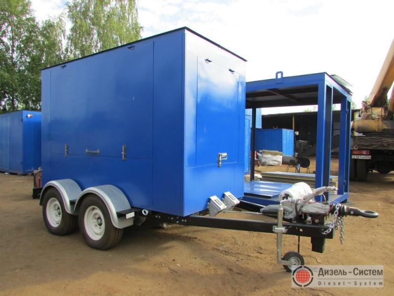 ЭД160-Т400-1РП генератор 160 кВт на шасси