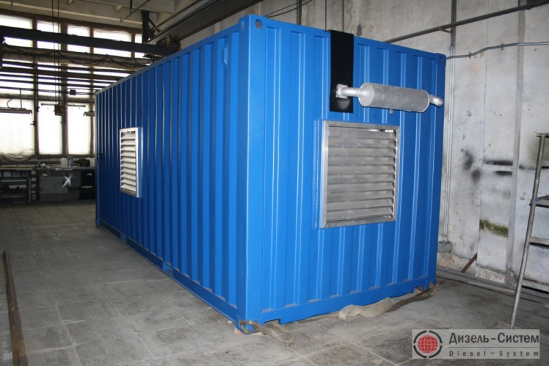 АД-150С-Т400-1РГТНЭ (АД-150-Т400-1РГТНЭ) генератор 150 кВт в контейнере с ручным запуском и электронным регулятором оборотов