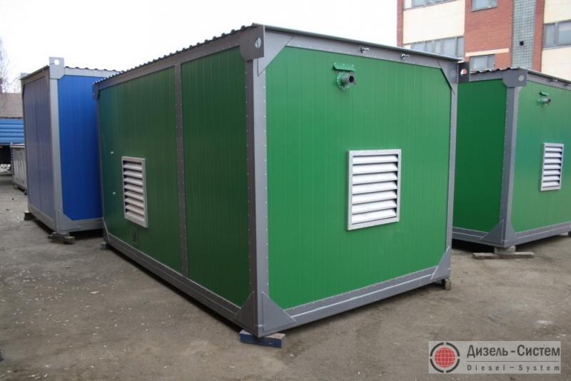 АД-160С-Т400-1РГХН (АД-160-Т400-1РГХН) генератор 160 кВт в блок-контейнере с ручным запуском и подогревателем