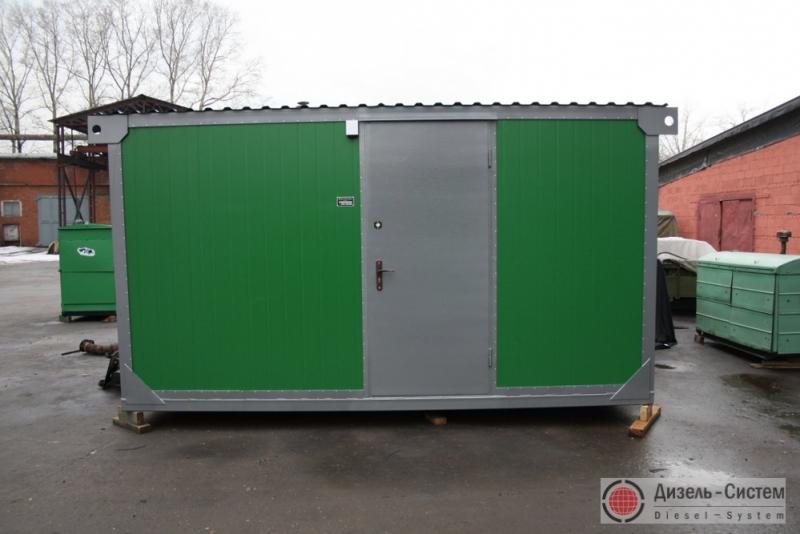 АД-350С-Т400-1РГН (АД-350-Т400-1РГН) генератор 350 кВт в утепленном контейнере с ручным запуском