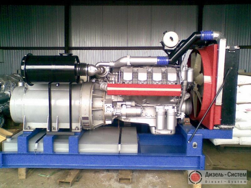 Фото и обозначение электрогенератора АД-300С-Т400-Р