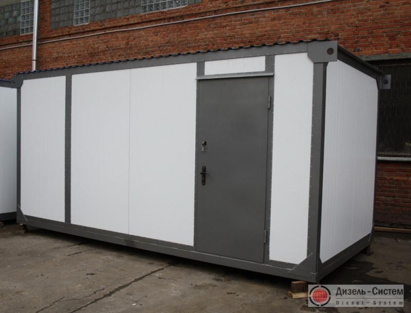 АД-60-Т400 (АД-60С-Т400) генератор 60 кВт в утепленном блок контейнере типа Север