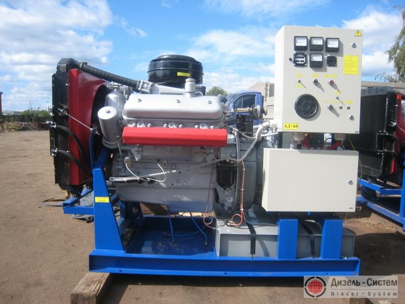 АД-75С-Т400-1РМ2 ЯМЗ (АД-75-Т400-1Р ЯМЗ-236) генератор 75 кВт на раме