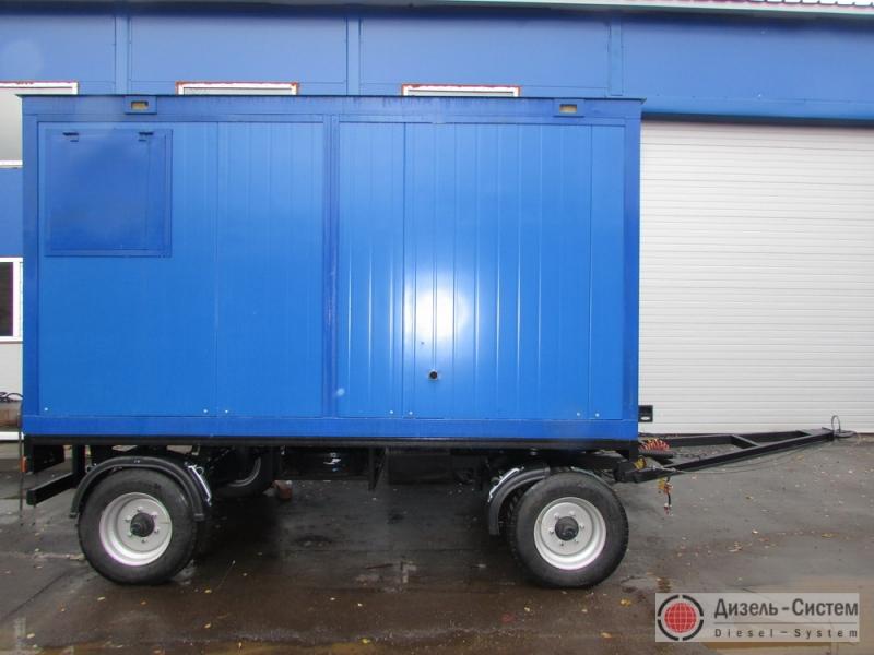 Дизельный генератор 315 кВт на шасси (передвижные генераторы 315 кВт)