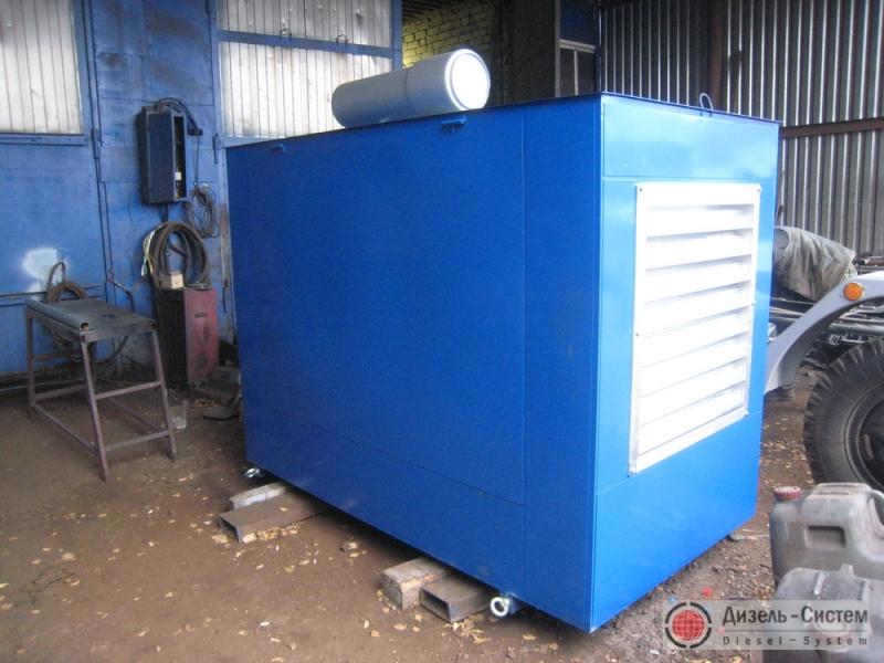 Фото дизельной электрической установки ДЭУ-40.2 в капоте